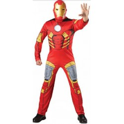IRON MAN MUSCULOSO ADULTO