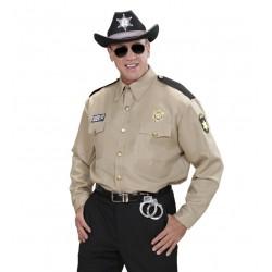 CAMISA DE SHERIFF ADULTO
