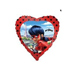GLOBOS FOIL LADY BUG CORAZON