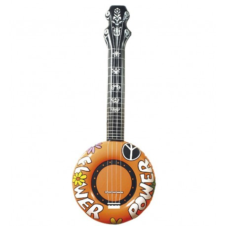 BANJO HINCHABLE HIPPIE