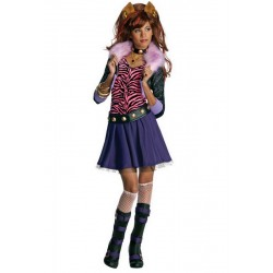 DISFRAZ DE CLAWDEEN WOLF MONSTER HIGH
