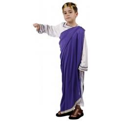 DISFRAZ DE EMPERADOR ROMANO INFANTIL