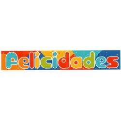 """BANDA """"FELICIDADES"""" 2UNIDADES"""