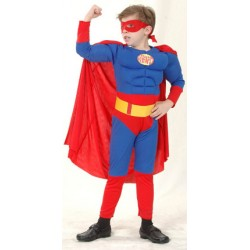 SUPERMAN MUSCULOSO INFANTIL